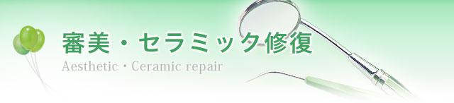 審美・セラミック修復